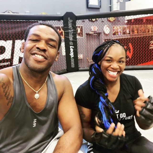 Jon Jones i Claresssa Shields