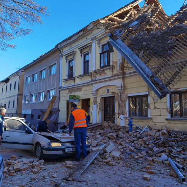 Prizori nakon potresa