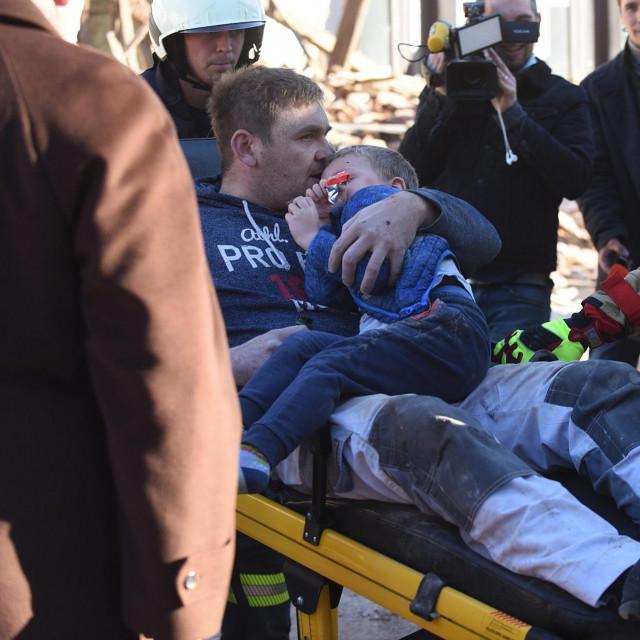 Akcija spašavanja u Petrinji