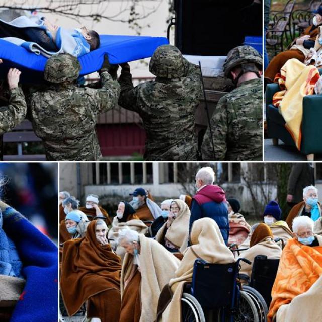 Zbrinjavanje starijih građana u Petrinji