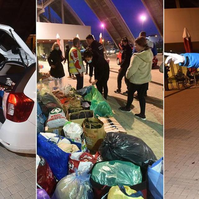 Zadrani su se u velikom broju uključili u akciju prikupljanja pomoći za Petrinju