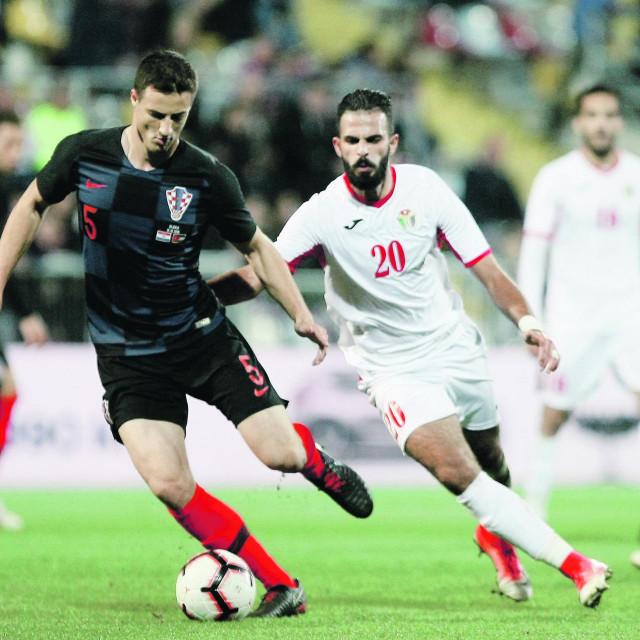 Matej Mitrović u reprezentativnom dresu