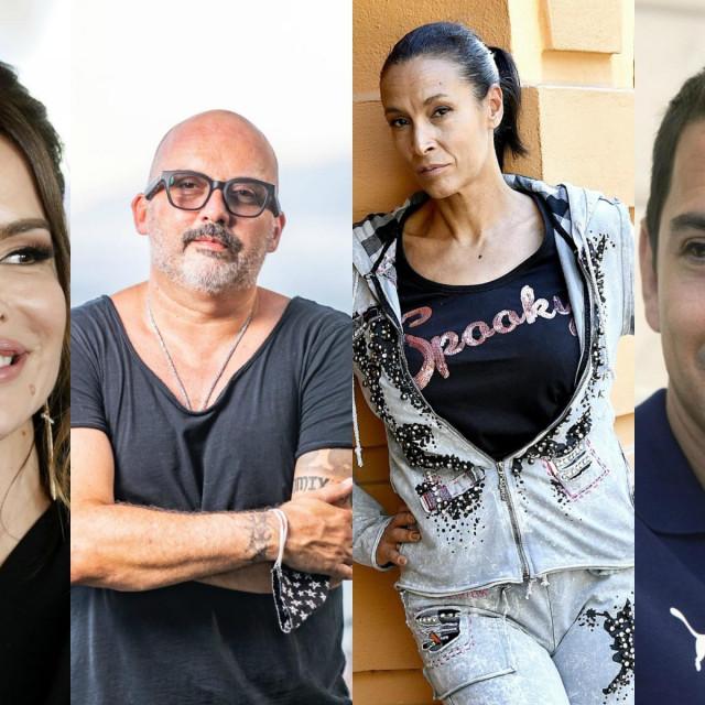 Severina, Tony Cetinski, Ivana Banfić, Mario Valentić