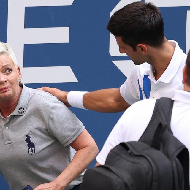 Udarac godine i diskvalifikacija Đokovića s US Opena