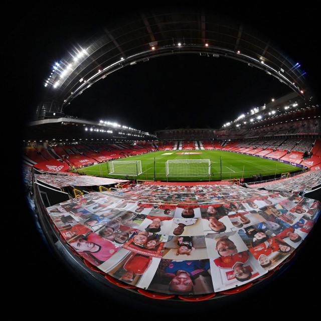 Ilustracija, stadion Old Trafford