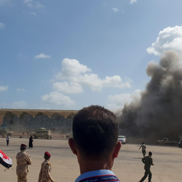 Eksplozije u zračnoj luci