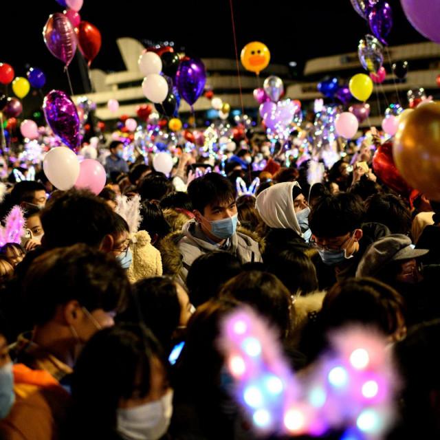 Doček Nove godine u Wuhanu