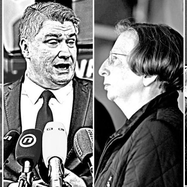 Vili Beroš, Zoran Milanović, Alemka Markotić, Miroslav Škoro