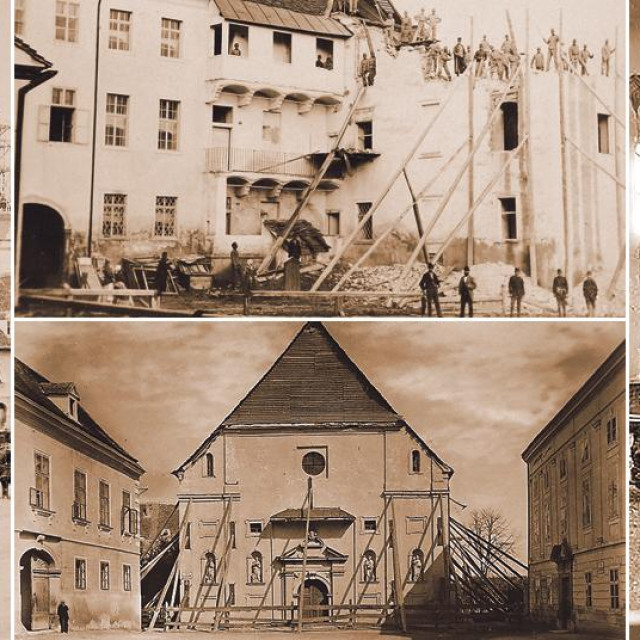 Obnova Zagreba nakon potresa 1880.
