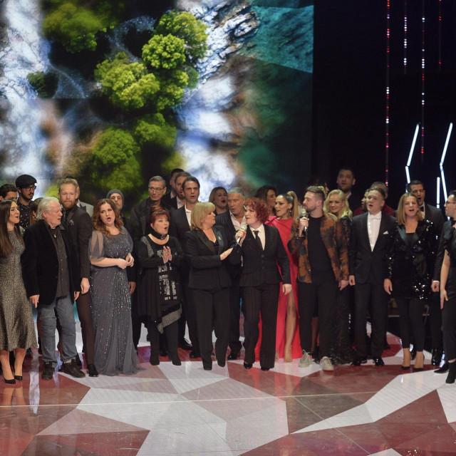 Prizor s dodjele Zlatnog studija 2020. godine