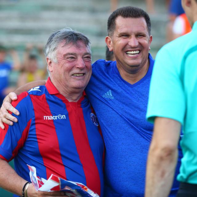 Igor Cvitanović s Vilsonom Džonijem