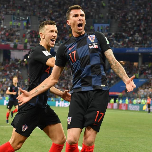 Mandžukić i Perišić u nezaboravnoj Rusiji 2018. godine