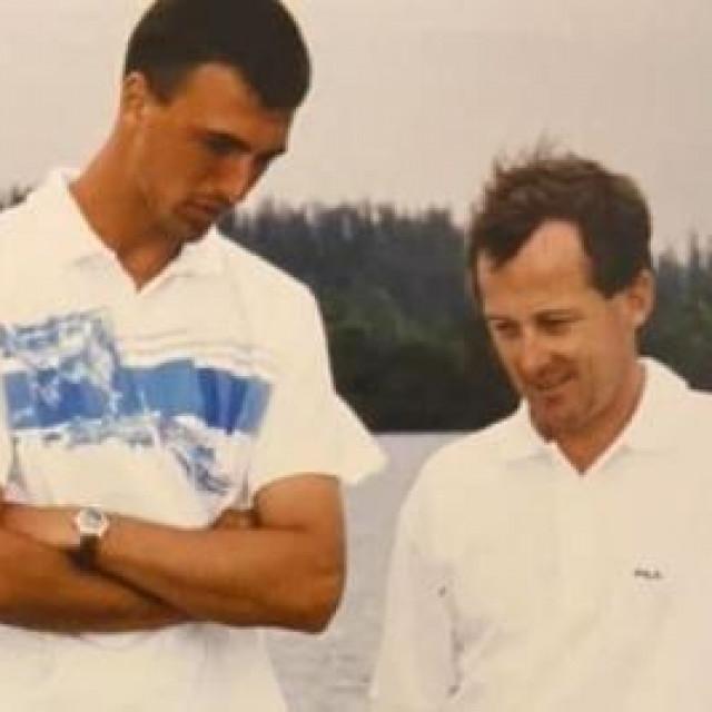 Brett i Ivanišević proveli su četiri godine zajedno, od 1991. do 1995.