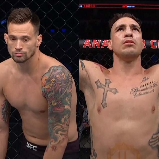 James Krause i Diego Sanchez
