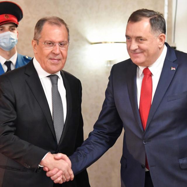 Sergej Lavrov i Milorad Dodik
