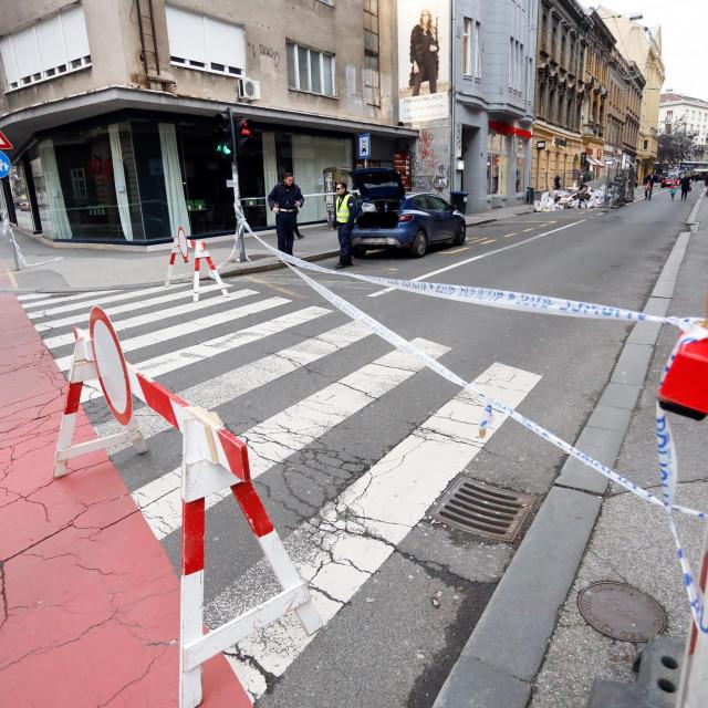 Zatvoren promet Masarykovom ulicom