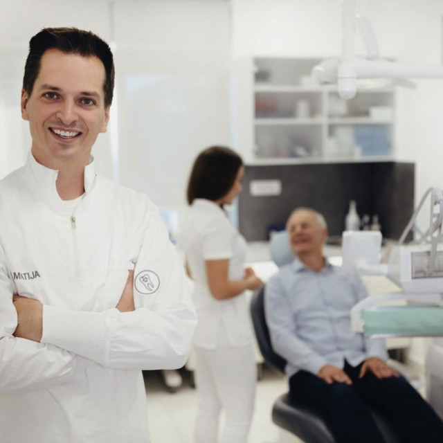 Dr. Matija Gikić ljubav prema stomatologiji stekao je u ordinaciji svoga oca, također kirurga - dr. Danka Gikića.