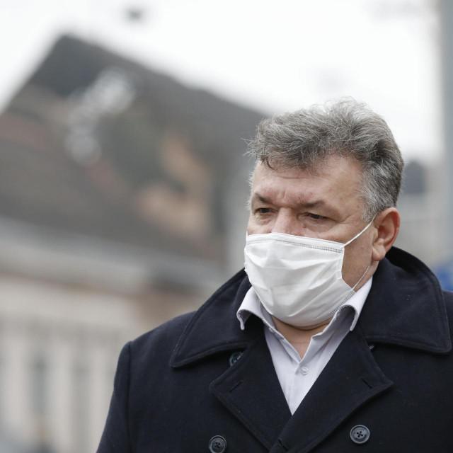 Gradonačelnik Gline Stjepan Kostanjević