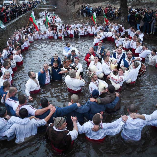 Proslava na rijeci Tundži u Bugarskoj