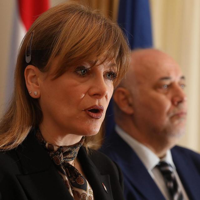Karolina Vidović Krišto i Milan Vrkljan
