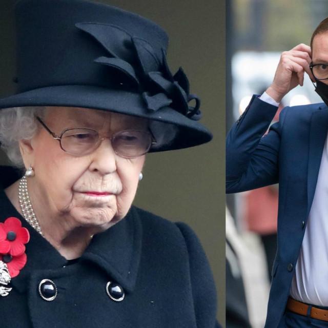 Kraljica Elizabeta II. i Adam Canto