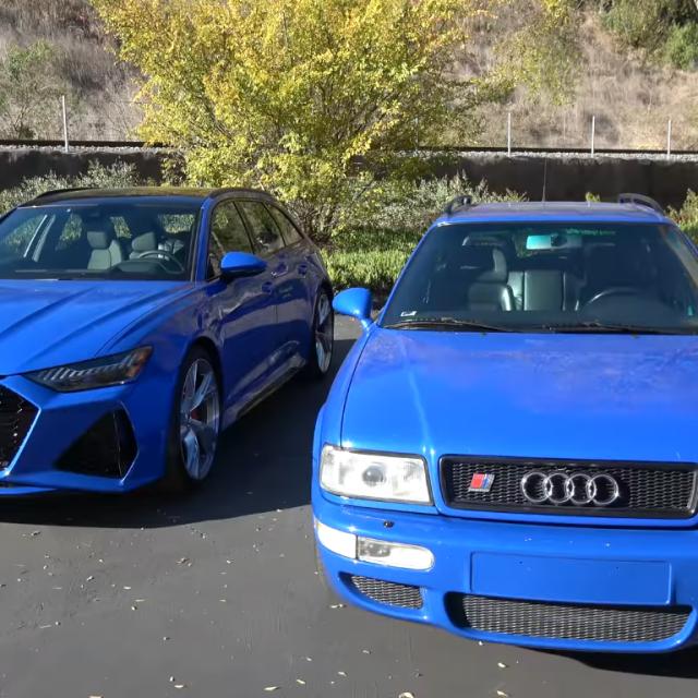 Audi RS6 i Audi RS2