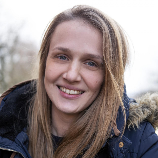 Marija Komarac, volonterka Humanitarne udruge Dobra volja jedna je od pobjednica natječaja Lica dobrote.<br />