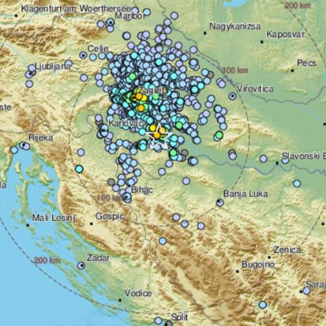 Potres kod Siska