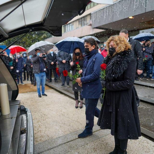 Zaposlenici Podravke opraštaju se od Marina Pucara