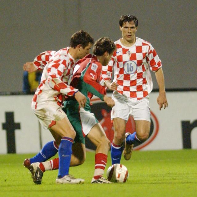 Zageb,09.10.2004 Kvalifikacijska utakmica 8.skupine za SP 2006,Hrvatska -Bugarska 2:2, Jerko Leko ,snimio_Ronald Gorsic