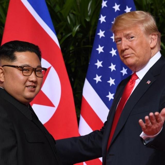 Kim Jong Un i Donald Trump