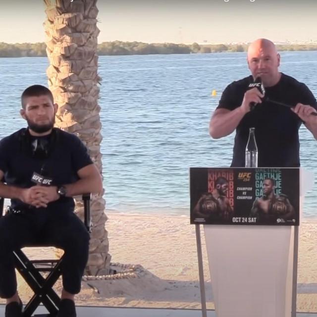 Khabib Nurmagomedov i Dana White