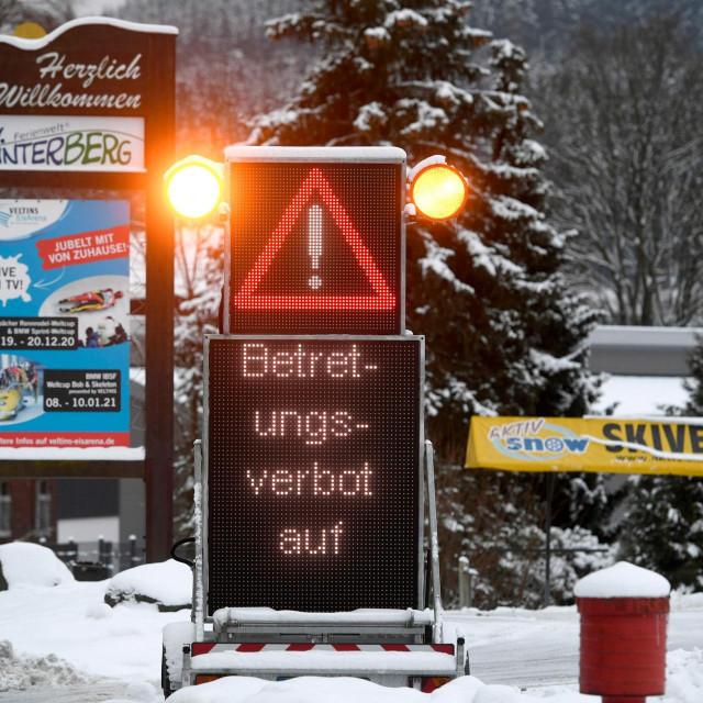 Zabrana ulaska na skijalište u Njemačkoj