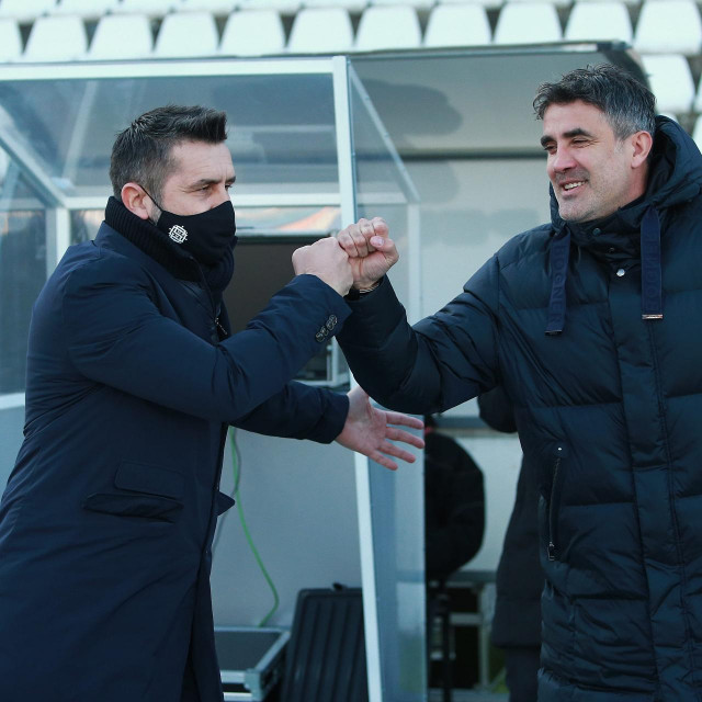 Zoran Mamić i Nenad Bjelica