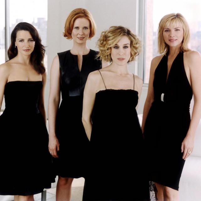 Kristin Davis, Cynthia Nixon, Sarah Jessica Parker i Kim Cattrall