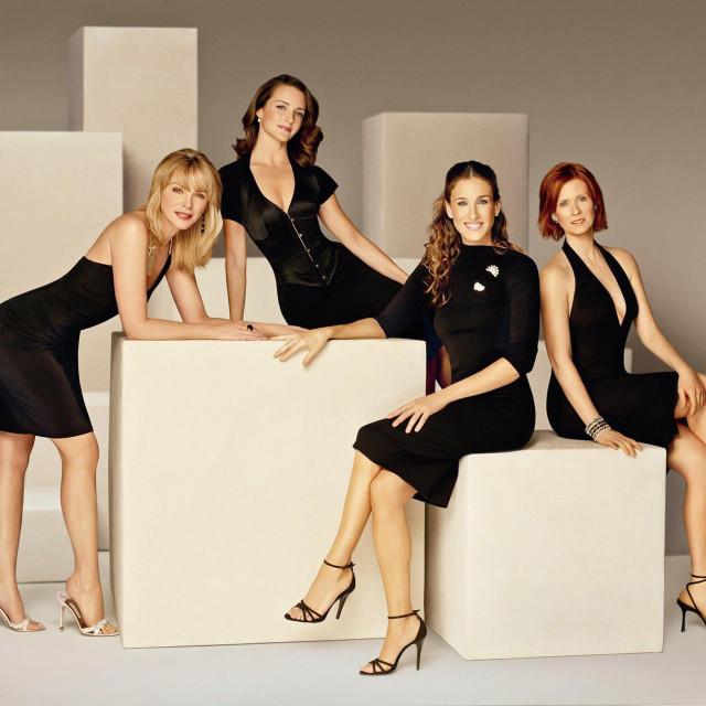 Sarah Jessica Parker, Kim Cattrall, Kristin Davis i Cynthia Nixon