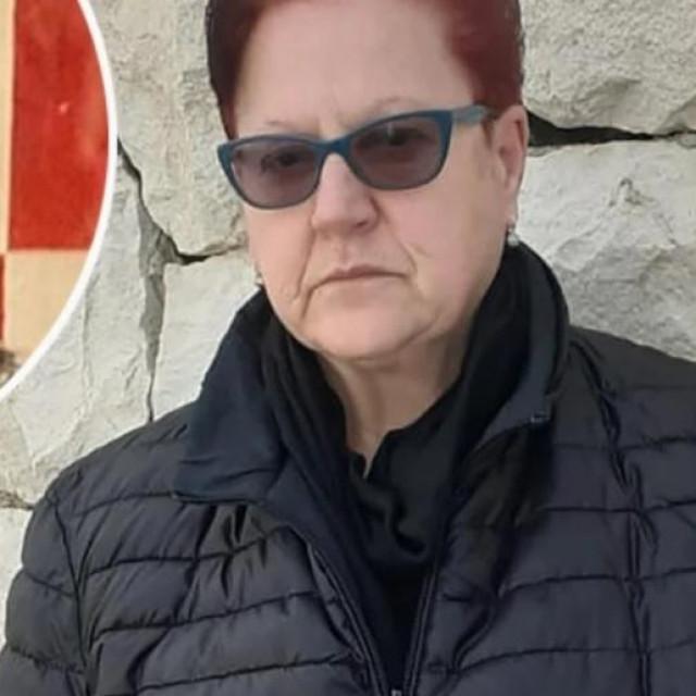 Milena Torlak; ubijeni Jurica Torlak (u krugu)