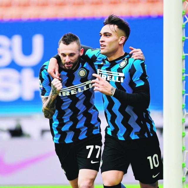 Lautaro Martinez i Marcelo Brozović