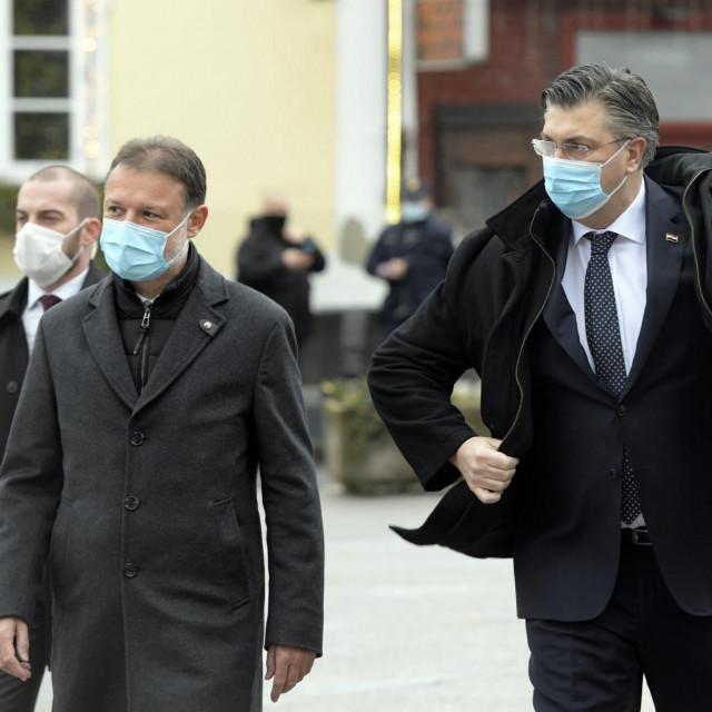 Gordan Jandroković i Andrej Plenković