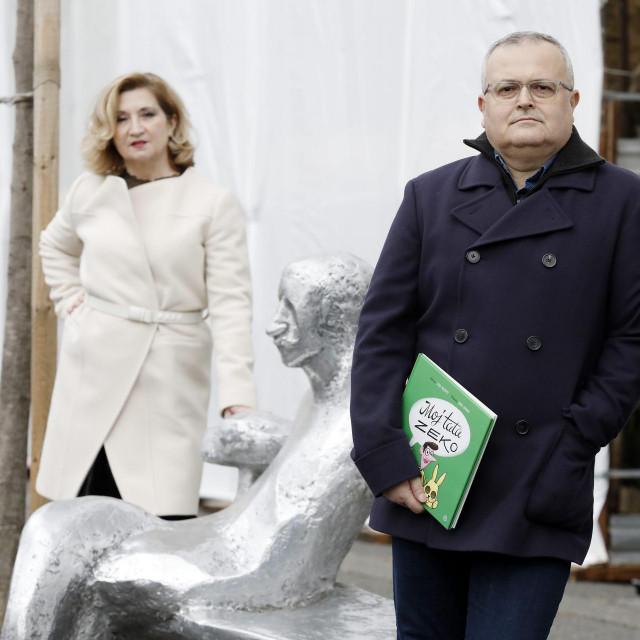Mirjana Dugandžija i Zoran Maljković