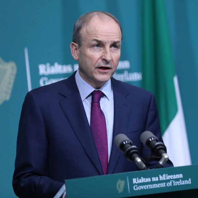 Irski premijer Micheal Martin