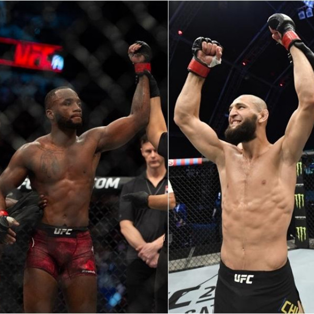 Leon Edwards i Khamzat Chimaev