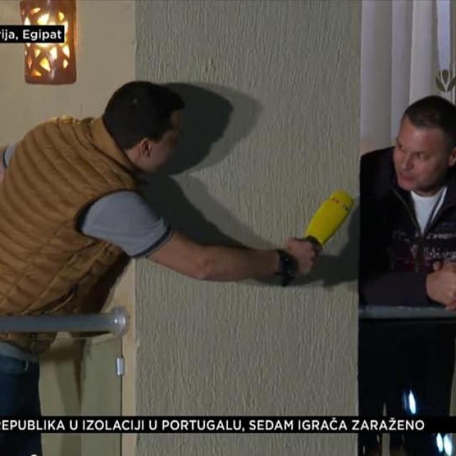 Filip Brkić i Nikša Kaleb u javljanju za RTL Danas s balkona