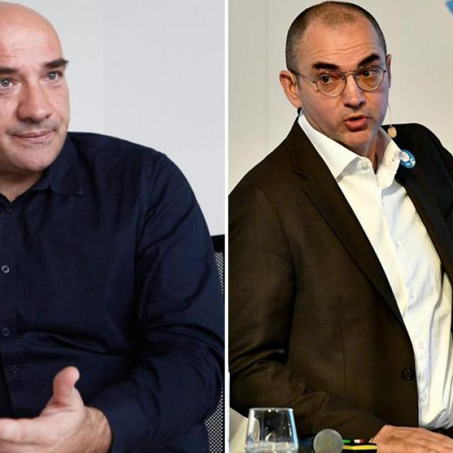 Gordan Lauc i Nenad Bakić