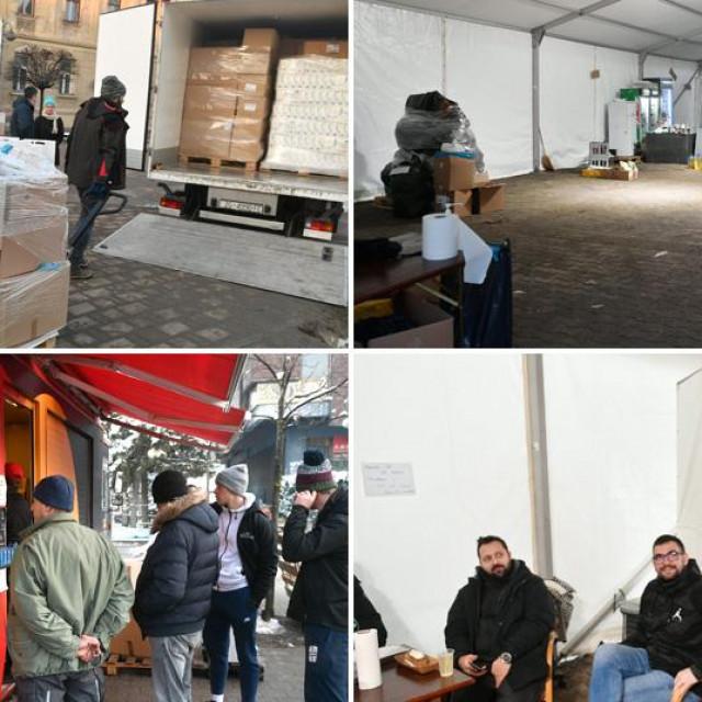 Ugostitelji volonteri odlaze iz Petrinje