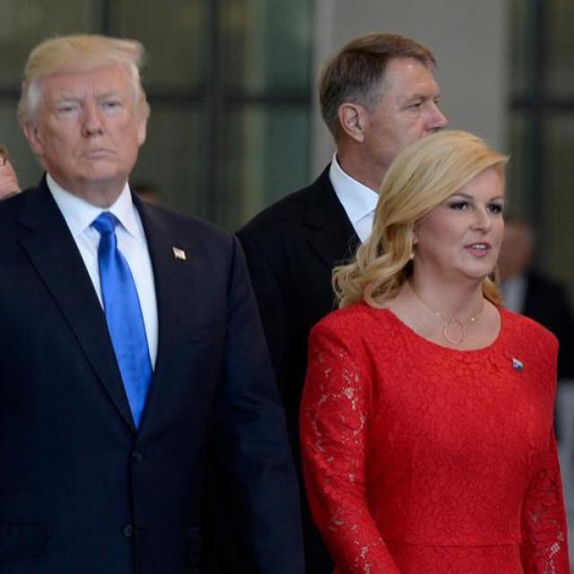 Donald Trump, Kolinda Grabar-Kitarović, Mark Rutte
