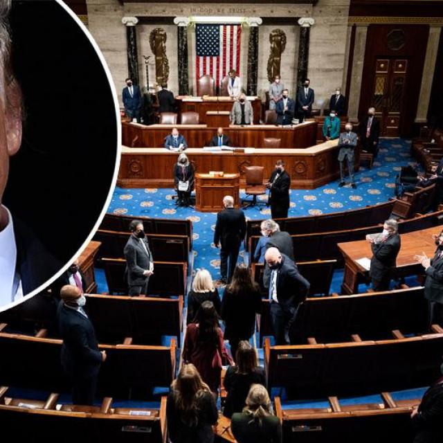 Kongres, Donald Trump (u krugu)