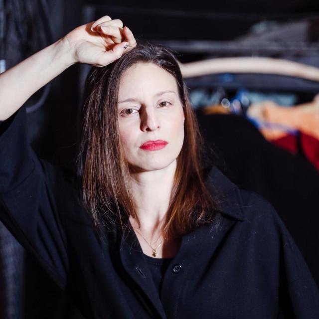 Glumica Jadranka Đokić<br /> Fotografija: Marko Todorov/CROPIX