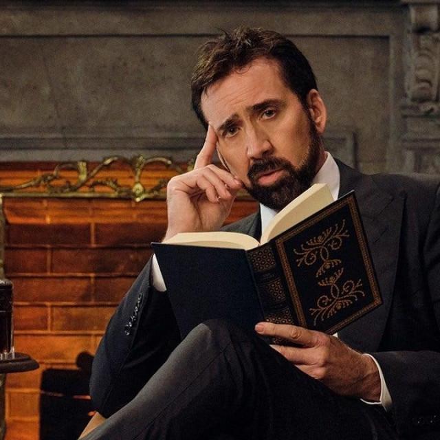 """Nicolas Cage """"History of swear words"""""""
