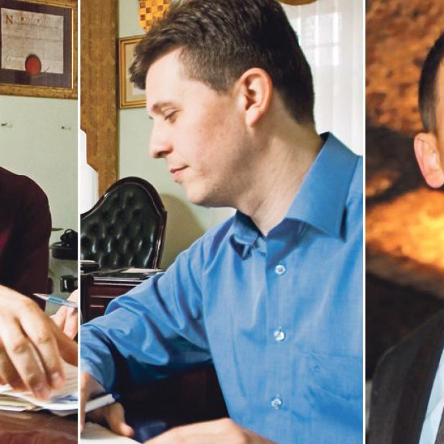 Darko Puljašić, Mario Pilon i Josip Vitez